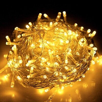 Jingle Jollys 50M Christmas String Lights 250LED Party Wedding Outdoor Garden