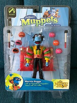 """Palisades Toys Figur """"Marvin Suggs"""" The Muppets Jim Hensons Serie 8 neu + ovp"""