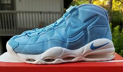 6fde587dd5 2017 Nike Air Max Uptempo 95 UNC University Blue White Size 11 922932-400 QS