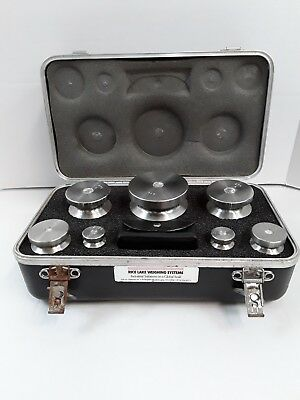 Rice Lake Weighing Systems Calibration 16 Piece Weight Set In Case