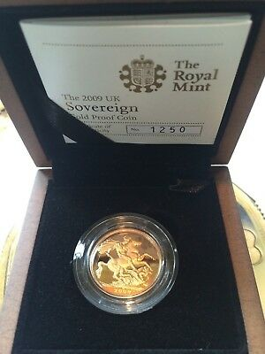 2009 Full Sovereign gold coin Proof