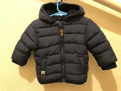 NEXT 3-6 Months Padded Hooded Coat Puffer Jacket