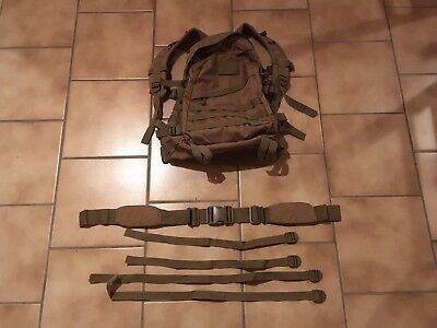 Kombat UK 3 Day Assault Backpack Rucksack Coyote Army Camping Outdoor