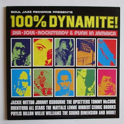 Soul Jazz Records 100% Dynamite – 2 LP Vinyl Original 1998