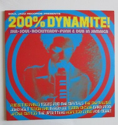 Soul Jazz Records 200% Dynamite – 2 LP Vinyl Original 1999
