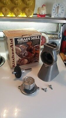 Vintage KitchenAid Grain Mill Attachment Model GM-A Product of Hobart Corp