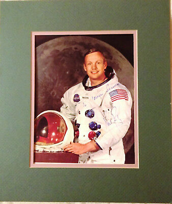 """NEIL ARMSTRONG AUTHENTICALLY AUTOGRAPHED NASA 8x10"""" COLOR PHOTO"""