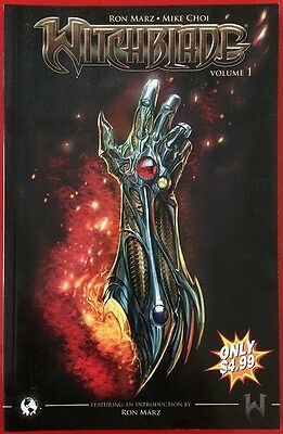 Witchblade Volume 1 Graphic Novel Top Cow Marz Choi