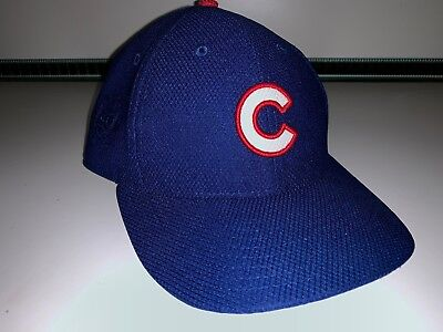 MLB Chicago Cubs New Era 59 Fifty Cap Hat Headwear BLUE NEW Baseball Size 7 1/4