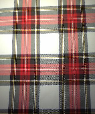 "*NEW* DRESS STEWART TARTAN TABLE RUNNER 74"" x 12"""