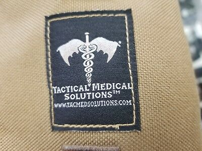 Tactical Medical Solutions Foxtrot Litter Coyote Brown Carrier. Black Litter.