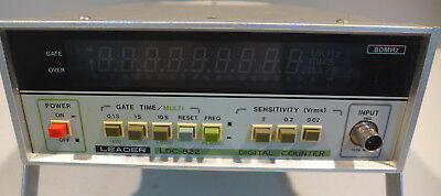 Leader LDC-822 Digital Counter Tested and Working!