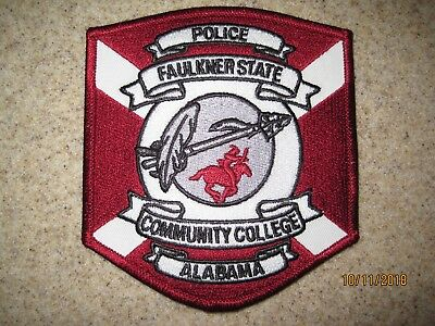 AL - Faulkner State College Police patch campus safety security Alabama DEFUNCT
