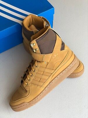 hot sale online 586e7 453ca Adidas Originals Forum Hi OG Brown Suede High Top Sneakers Mens Size 9.5