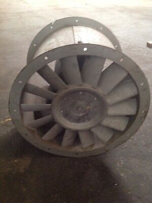 500mm Industrial / Commercial Cased Axial Flow Extractor Fan - 415v / 2900rpm
