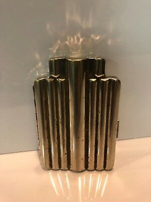 Antique Nickel Silver Medical Syringe Case Doctor Apothecary Bd Yale 1913 1915