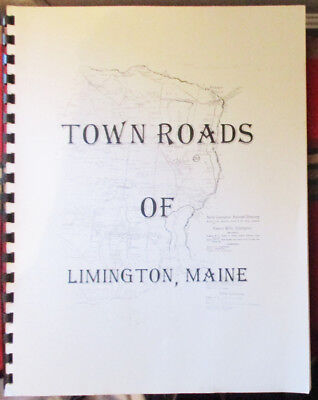 2004 Town Roads Of Limington Maine Robert Taylor Collection