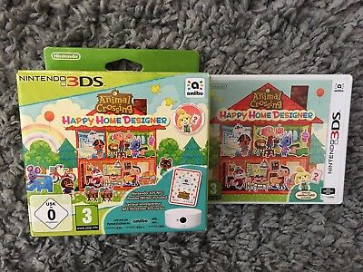 Box And Game Case Only Animal Crossing Happy Home Big Outer (No Game) Uk Release