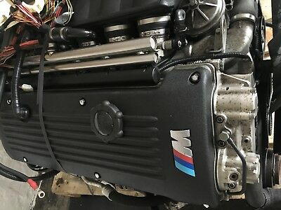 BMW E46 M3 S54 complete engine & manual gearbox great