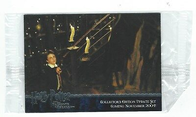 Harry Potter And The Prisoner Of Azkaban Collector's Edition Update Promo Set