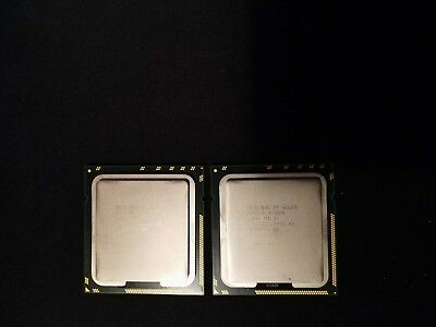Pair of Intel Xeon X5680 3.33GHz Six Core processors free shipping