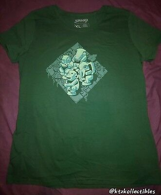 Loot Crate Loot Wear EXCLUSIVE Jumanji Women's Tee Size XL - New!!!