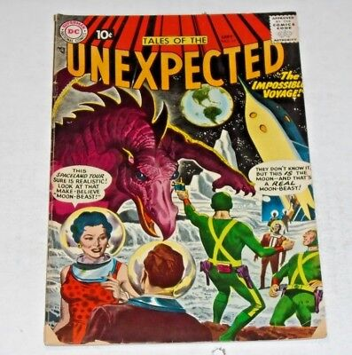 Tales Of The Unexpected #17 comic (VG) 1967 DC