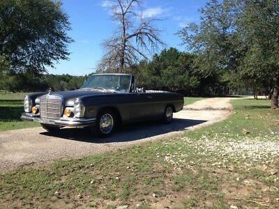 1970 Mercedes-Benz 200-Series  1970 Mercedes 280se 2.8  CHOP TOP Convertible