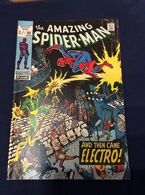 Marvel Comic The Amazing Spider-Man Issue 82 March 1970