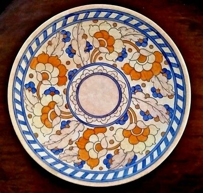 Superb Crown Ducal Charlotte Rhead Art Deco Charger Byzantine Pattern 1933
