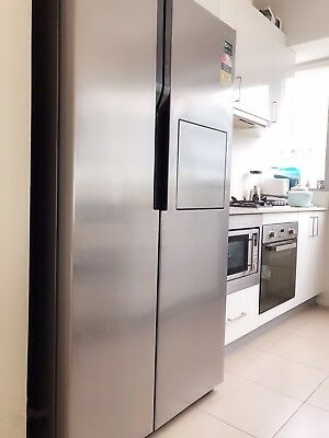 Samsung SRS603HLS 603L Side By Side Fridge - Moving Sale - Very Good Condition