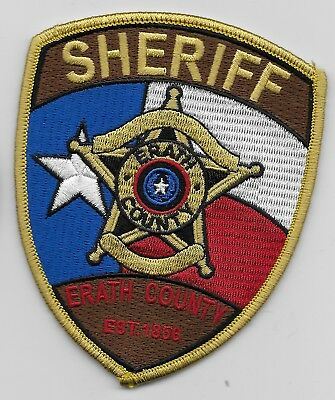 Colorful Erath County Sheriff State Texas TX