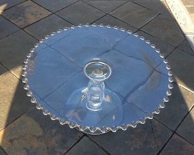 Imperial Candlewick 3 Ball Cake Stand