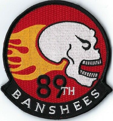 USAF 89th FLYING TRAINING SQUADRON BANSHEES FLIGHT PATCH