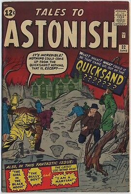 Marvel-Atlas TALES TO ASTONISH #32, Art by KIRBY, DITKO, HECK, Very Fine, 1962