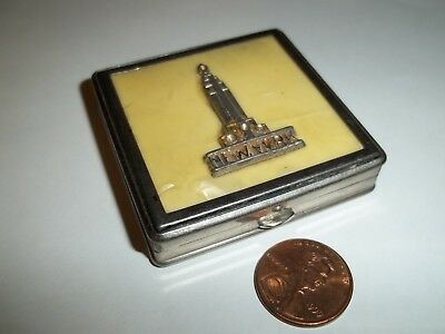 Empire State Building  Antique Compact - NYC