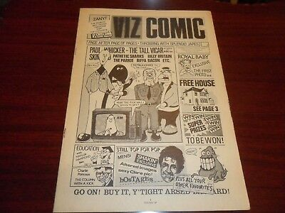 Viz comic - Issue 7 - Dec 1981 - Very good condition - Over 18s only.