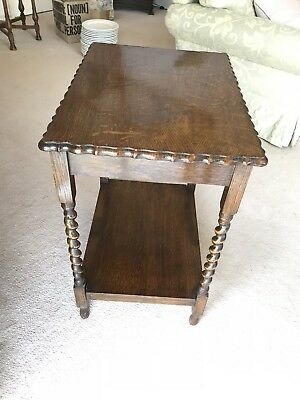 Antique English Oak Occasional Table