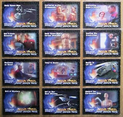 1993  Skybox  Star Trek Cards:  DEEP  SPACE  NINE  (Ltd Edition Set) + Free Post