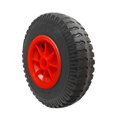 25cm Dia. Puncture Proof Rubber Tyre Wheel for Canoe/Kayak Trolley Trailer