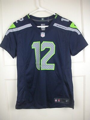 c9479732c NIKE ON FIELD Seattle Seahawks Kam Chancellor  31 Jersey Youth Size ...