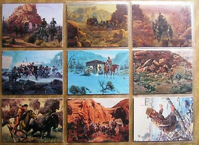 1996 Keepsake Cards: WILD WEST (set of 72 Art Cards - Mort Kunstler) + Free Post