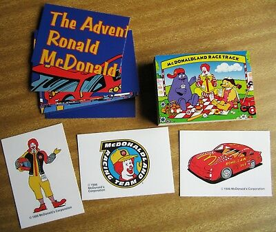 1996 Collect-A-Card: THE ADVENTURES OF RONALD MC DONALD (full set ) + Free Post