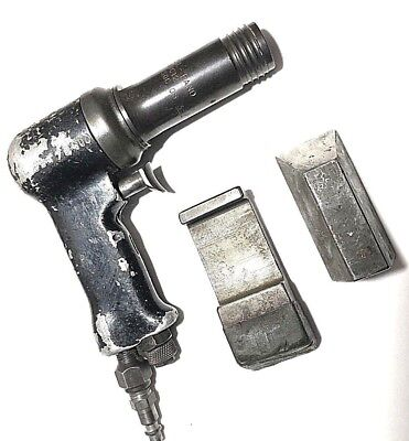 INGERSOLL RAND AVC-12 3X Rivet Gun with Bucking Bars Aircraft Tools