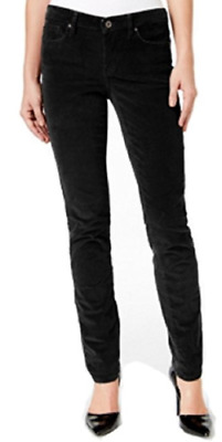 Nwt Calvin Klein Ultimate Skinny Black Stretch Cotton Corduroy Jeans  Tall Pant
