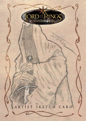 The Lord of the Rings Evolution Sketch Card - Justin Chung - Nazgul (Ringwraith)