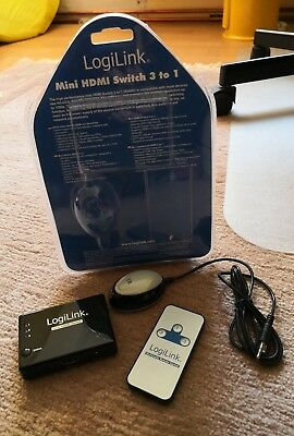 Logilink HDMI Switch 3 To 1