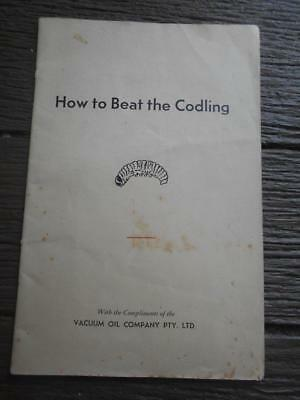1948 How to Beat Codling Vacuum Oil Melbourne spray moth grubs spraying farming