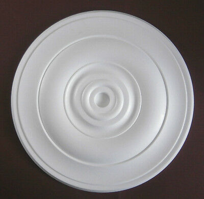 Ceiling Rose Size 400mm - 'Osborne 2' Lightweight Polystyrene *We Combine P&P*