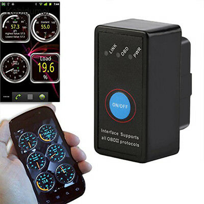 OBD2 Car Engine Fault Code Reader Diagnostic Bluetooth Scanner Tool USA